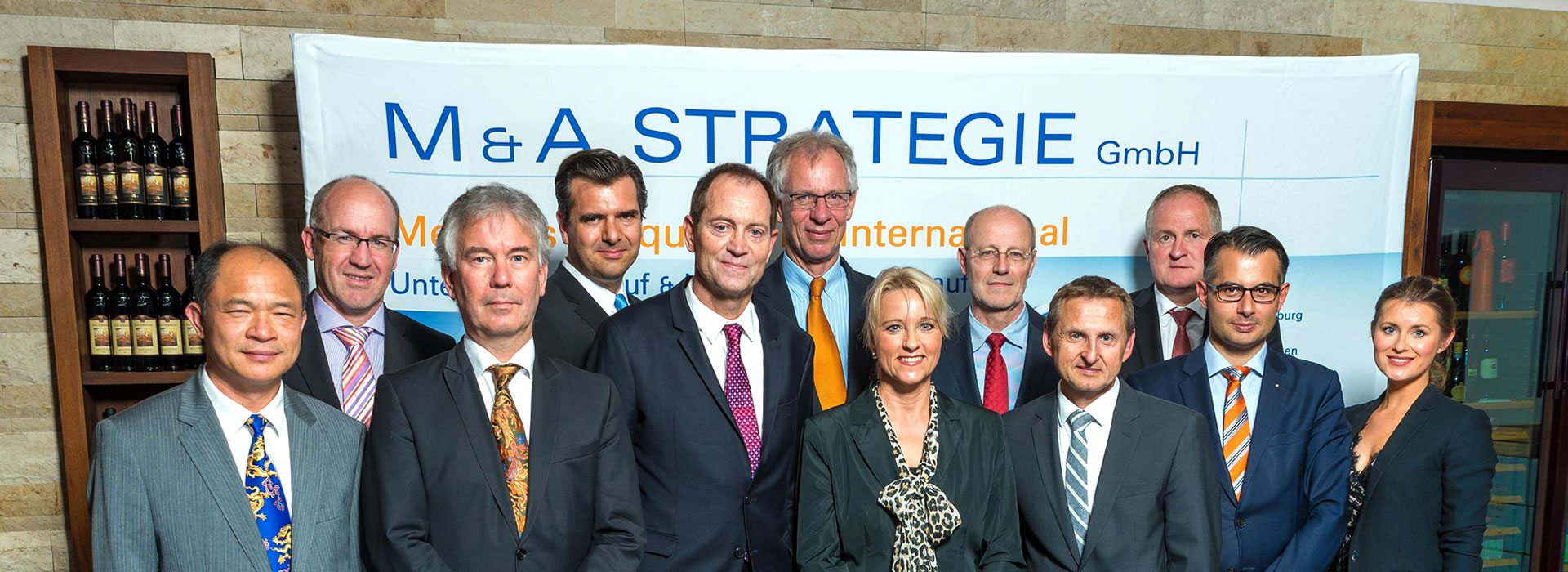 The Team of M & A STRATEGIE GmbH